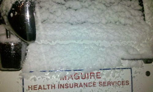 It_snowed